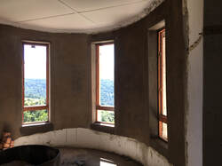 Keeping the iconic round windows with amazing views