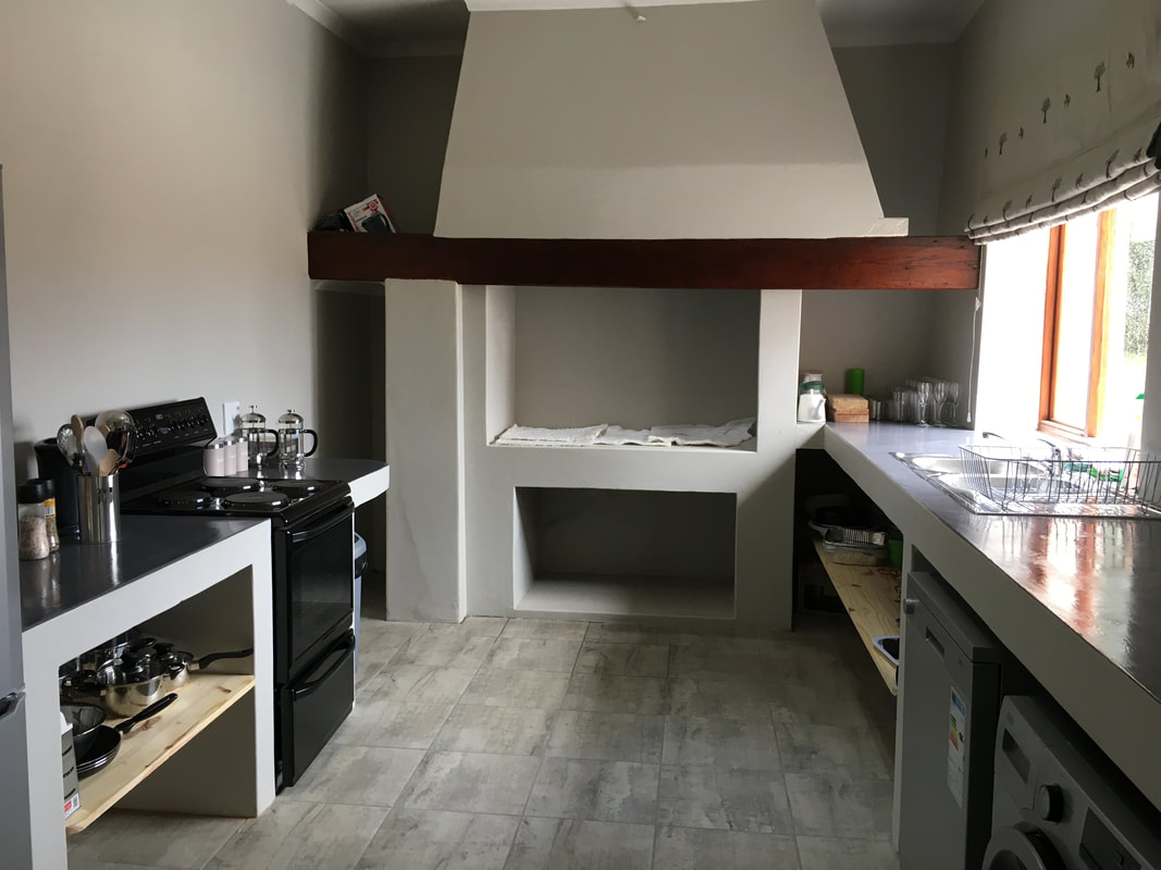 The new kitchen looking spick and span!